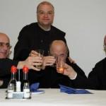 I Padri della Comunità insieme a P. Agostino Bartolini