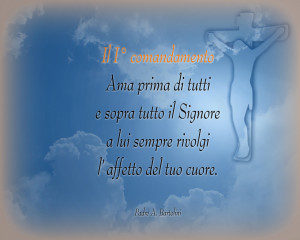 I comandamento