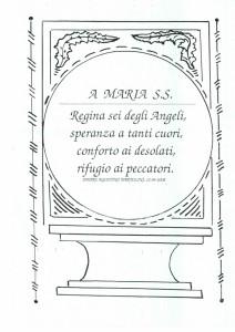 A Maria SS.(1)