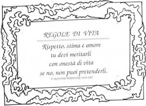 Regola di vita (4)